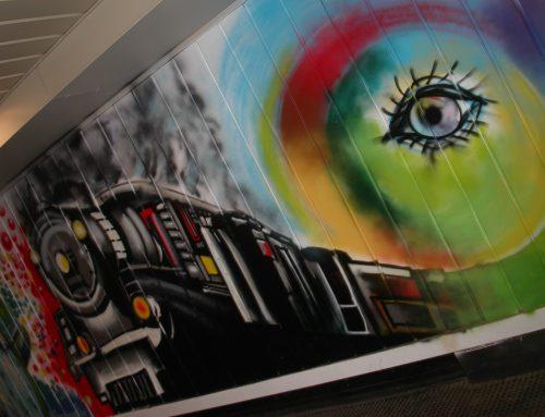 Murales Stazione di Campobasso